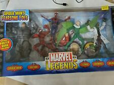 Collectible marvel legends spiderman fearsome foes figure set never opened NICE!