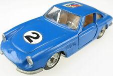 POLITOYS EXPORT 562 - FERRARI 330 GTC - blau - 1:43 - Model Car