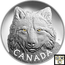 2017 Kilo 'In The Eyes of the Timber Wolf' $250 Silver Coin .9999Fine(18007)(NT)