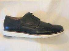 Cole Haan Hombre Grand.os Derby Oxford Wingtip Zapatos Ee.uu. 10.5M Cuero Negro
