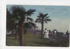 Abbazia Palmengruppe Am Suedstrand Vintage Postcard 313b