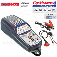 OPTIMATE 4 DUAL PROGRAM 1A CAN BUS CARICA BATTERIE MANTENITORE UNIVERSALE MOTO