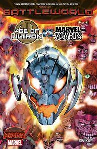 Age of Ultron VS. Marvel Zombies: Battleworld TP - Secret Wars - Robinson - NEW