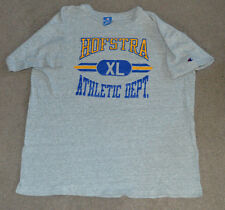 Vtg Hofstra University Flying Dutchmen Athletic Dept Shirt Champion XL Retro