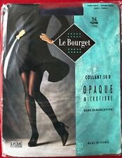 Le Bourget Opaque 50 Tights Pantyhose Marine Size T4