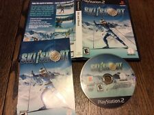 Ski and Shoot PlayStation 2 Game Used Free US Shipping Winter Sports Snow