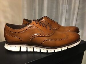 Mens Cole Haan Zerogrand Wing Oxfords Shoes.
