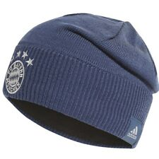 adidas FC Bayern Munich Fan Team Boys Hat DY7682 blue OSFY Youth Beanie Woolie