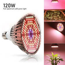 E27 120W Warm Full Spectrum LED Grow Light Bulb For Hydroponic Veg Growing Lamp