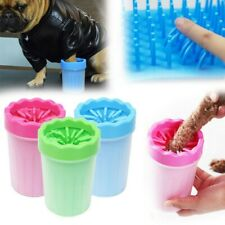 Pet Cleaning Brush Cup Dogs Cat Grooming Dog Cat Paw Cleaner Pet Feet Washer Us