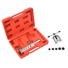 Auto Double Flaring Brake Line Tool Kit Car Truck with Mini Pipe Cutter
