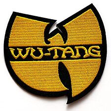 WU-TANG CLAN Logo Music Hip Hop Rock Hardcore RAP Iron On Embroidered Patch