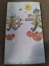 Vintage Halloween Crepe Paper Tablecloth - Never Opened