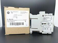 ALLEN-BRADLEY, IEC 100-C16D10, CONTACTOR, 16 AMP, 120VAC COIL, BRAND NEW.