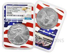 2020 (P) $1 American Silver Eagle Ngc Gem Bu Emergency Production Flagcore