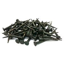 HAND Forged Iron NAILS 65mm x 80 PEZZI Rose CHIODI TESTA CHIODI FERRO BATTUTO