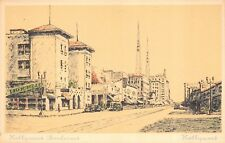 Artist Drawing Postcard Hollywood Boulevard in Hollywood, California~115903