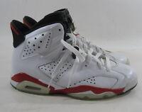 "Air Jordan 6 Retro ""Bulls 384664 102 Year:2010 White/Varsity Red-Black Size 7.5"