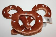 Disney Parks Plush Food Series Mickey Mouse Ears Pretzel Plush Toy