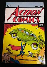 Action Comics No 1 Reprint June, 1938 (1992) Estimated Grade 7.0-8.0