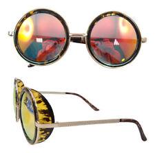 Metal Frame Round 100% UV400 Sunglasses for Men