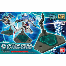 BANDAI HGBC DIVER GEAR GUNPLA DISPLAY BASE Model Kit Gundam Build Divers NEW