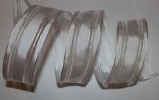 White Ribbon Scrapbooking Embellishments