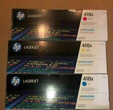 HP CF411X CF412X CF413X Toner Cartridges Ink  Cyan Yellow Magenta