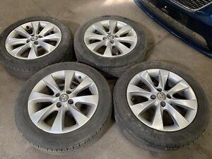 Vauxhall Corsa D Active Alloy Wheels With Tyres 8 Spoke 195 55 16 (2007 - 2019)