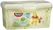 Huggies Natural Care Fragrance Free Baby Wipes - 64 ct, Pack of 3