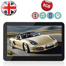 "Noza Tec 7"" Car GPS Sat Nav Navigation System FM Speedcam POI UK EU Map 8GB New"
