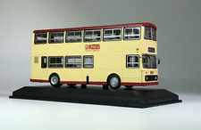New 1:76 Scale Kowloon, Hong Kong Double Deck Bus 3D Alloy Static Display Model