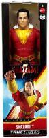 """SHAZAM True Moves 12"""" Inch Scale Action Figure Shazam Movie GCW30 Mattel DC New"""
