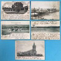 5x Foto Postkarte Ansichtskarte Windhuk Windhoek Deutsch Südwest Afrika~1900