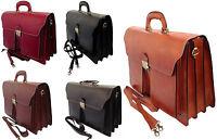 borsa da uomo cartella da lavoro porta documenti vera pelle made in italy 7001