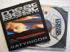 """MEAT BEAT MANIFESTO """"SATYRICON"""" - CD"""