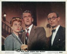 JAMES STEWART  DORIS DAY  THE MAN WHO NEW TOO MUCH 1956 VINTAGE LOBBY CARD #2