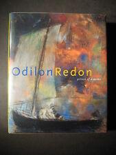 ODILON REDON PRINCE OF DREAMS 1840-1916 Near Fine Condition Art Artist