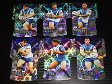 2009 NRL CLASSIC DIE CUT JERSEY TEAM SET OF 6 CARDS BULLDOGS