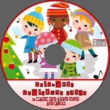 20 FAVOURITE KIDS CHRISTMAS SONGS CAROLS AUDIO CD CHILDRENS FESTIVE SING-ALONG