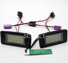 New 2Pcs 24-SMD LED License Plate Light For Audi S4 B8 2010 2011 2012