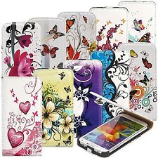 Motiv Tasche für Sony Nokia Wiko Schutz Hülle Flip Cover Case Schale Etui Bumper