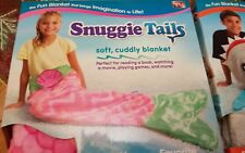 Kids Shark or Mermaid  Fleece Blanket Snuggle-in Sleeping Bag Fancy