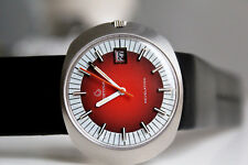 CERTINA Revelation Automatic for Men *NOS, approx. 1970/1971, Red Dial*