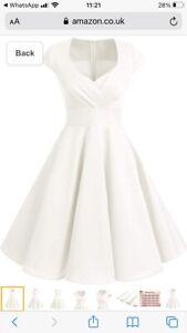 ladies 50's style dress