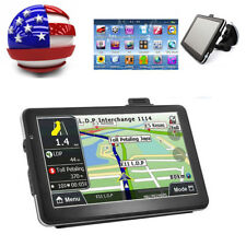 "7"" HD Touch Screen Car GPS Navigation Navigator RAM 4GB FM Video MP3 MP4 USA Map"