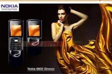 Original unlocked Nokia 8800 sirocco 8800s 2G GSM128MB internal memory 2MP Phone