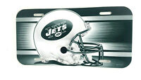 New York Jets License Plate Helmet Design NFL Football