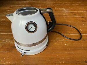 KitchenAid Artisan White 1.5L Kettle - Please Read Description,spare/repair