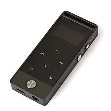 Metal Benjie S5 reproductor de MP3 con radio FM 8GB (hasta 32GB)